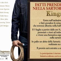 Evento promozionale film kingsman a supporto della convention 20thCentury Fox a Cinè - luglio 2017 - Riccione