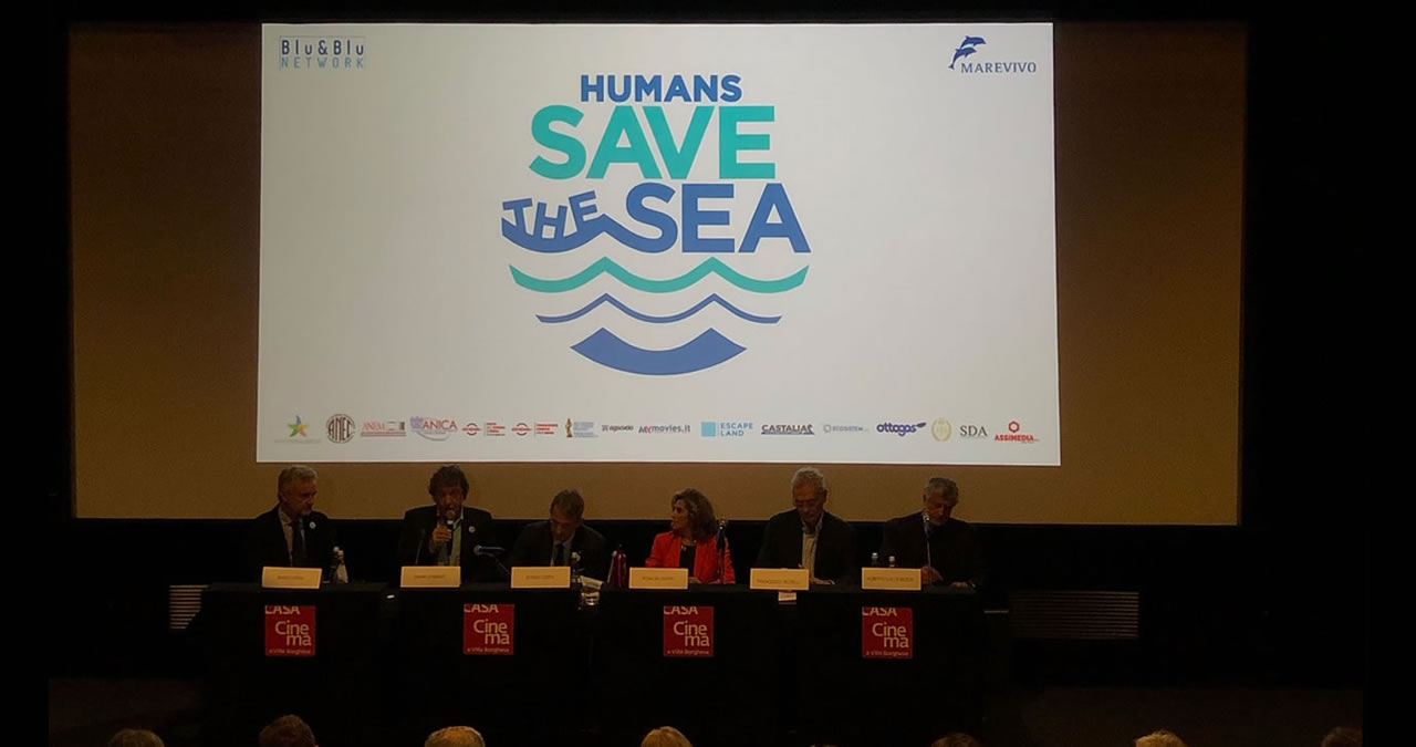HUMANS SAVE THE SEA